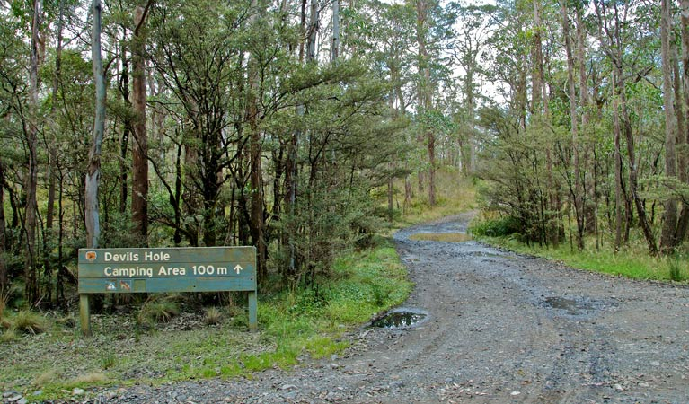 Devils Hole campground and picnic area - Perisher Accommodation