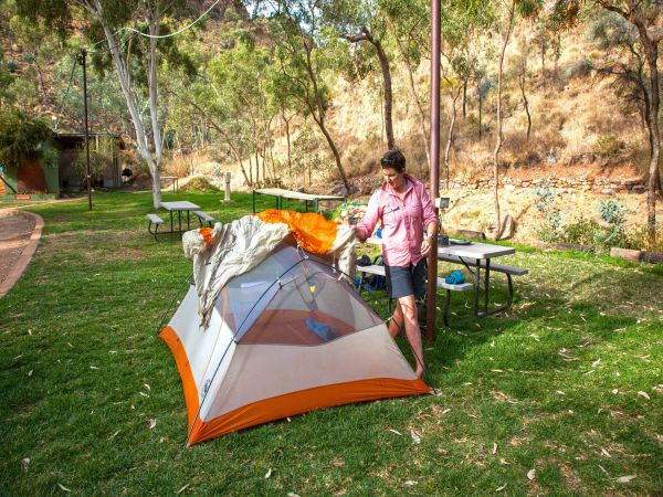 Standley Chasm Angkerle Camping - Perisher Accommodation