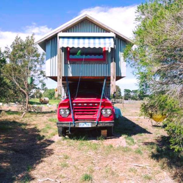 Torquay Farmstay  Blue Studio Truck - Perisher Accommodation