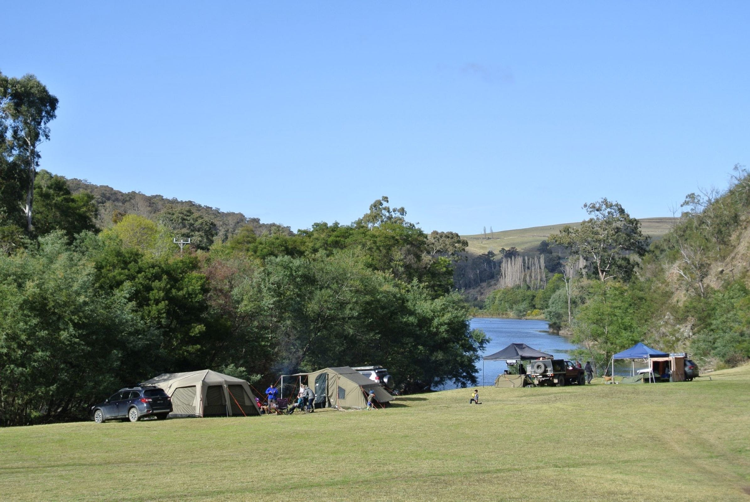 Montana on the Macalister Campground  Caravan Park - Perisher Accommodation