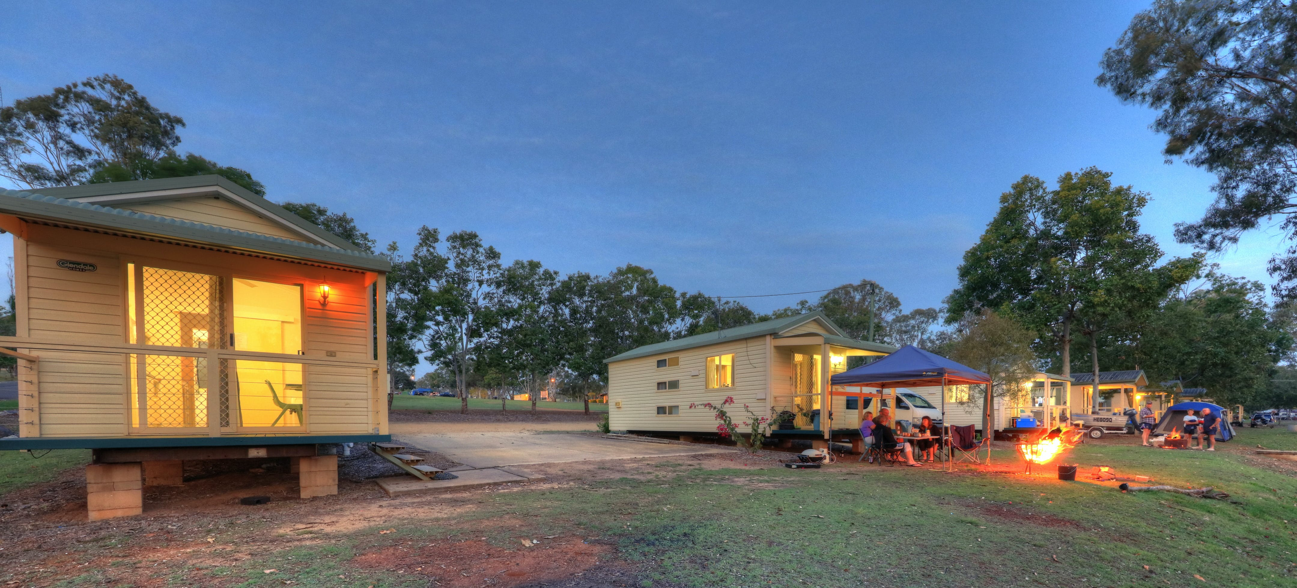 Yallakool Caravan Park on BP Dam - Perisher Accommodation