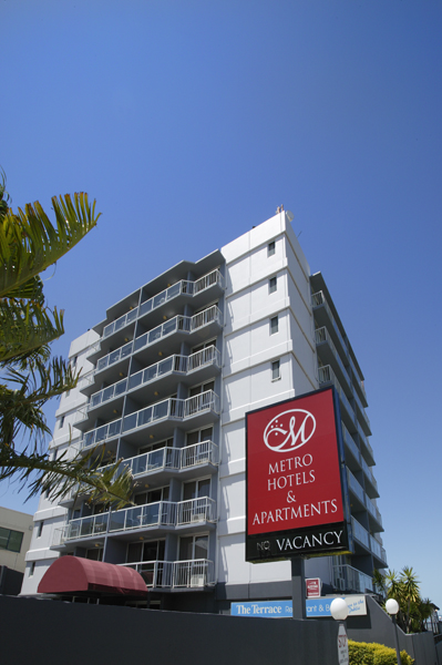 Metro Hotel  Apartments Gladstone - Perisher Accommodation