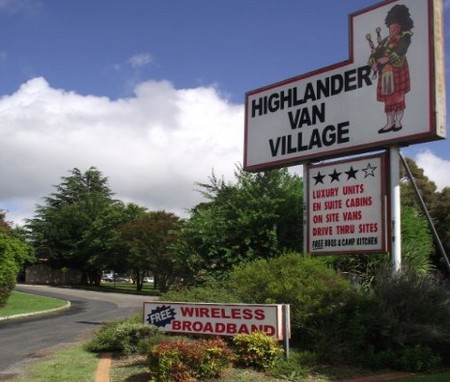 Highlander Van Village - Perisher Accommodation