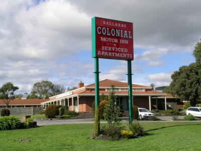 Ballarat Colonial Motor Inn - Perisher Accommodation