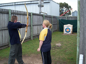Bairnsdale Archery Mini Golf  Games Park - Perisher Accommodation