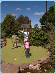 Wetlands Mini Golf - Perisher Accommodation