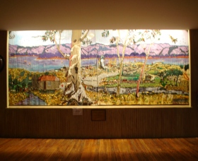 Adaminaby Memorial Hall Stage Curtain - Perisher Accommodation