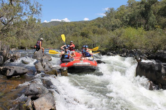 Rafting Australia - Perisher Accommodation