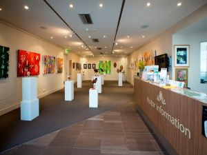 Australian National Botanic Gardens Visitor Centre Gallery - Perisher Accommodation