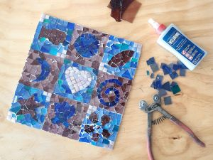 Intro to Mosaics Weekend with Leadlight By Ettore - Perisher Accommodation