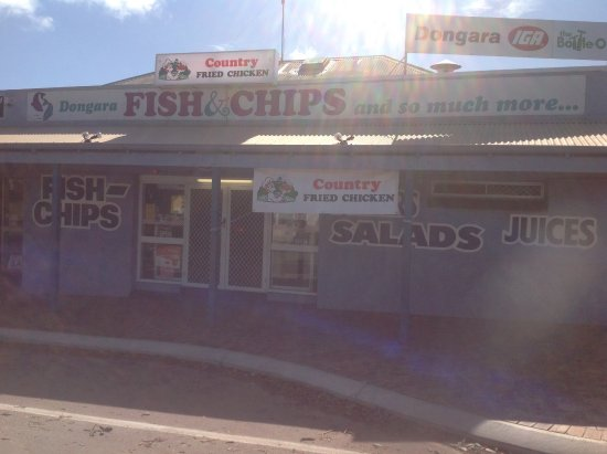 Dongara Fish  Chips - Perisher Accommodation
